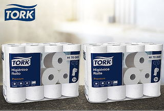 Pack 48 Rollos de Papel Higiénico Premium Tork