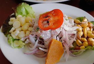 Almuerzo o Cena Peruana en 3 tiempos para 2 o 4 personas
