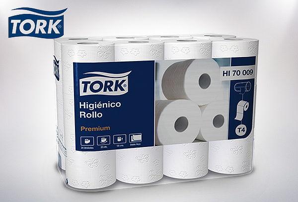 Pack 48 Rollos de Papel Higinico Premium Tork Higiene Cuponaticcom