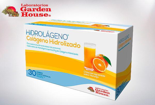 Pack 1 o 2 Cajas Colágeno Hidrolizado Garden House