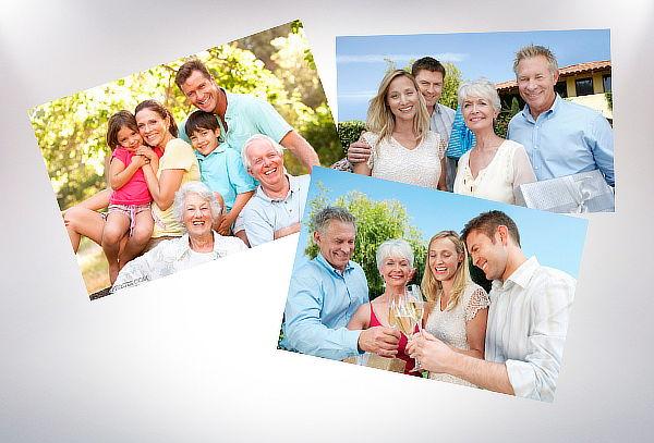 Impresión de 30, 100 o 200 fotos tamaño 15x21 cm
