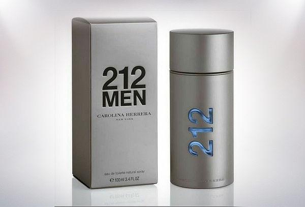 Perfume Carolina Herrera 212 Men 100 ml