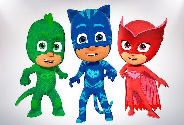 Entrada Pj Masks Super Héroes en pijamas