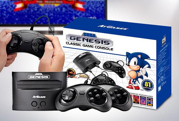 Consola Retro Sega Genesis Classic Con 81 Juegos Integrados Juegos