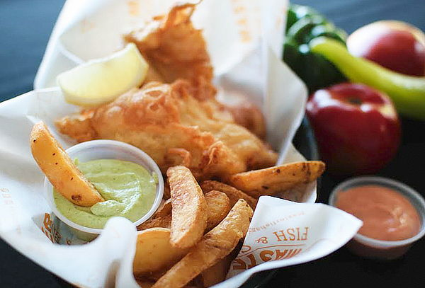 Fish & Chips de Camarón o Blanquillo para 2
