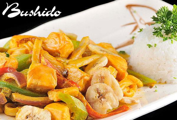 Bushido Sushi: Almuerzo o Cena Thai para 2 Personas