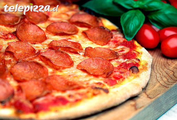 Telepizza: Pizza Familiar Pepperoni