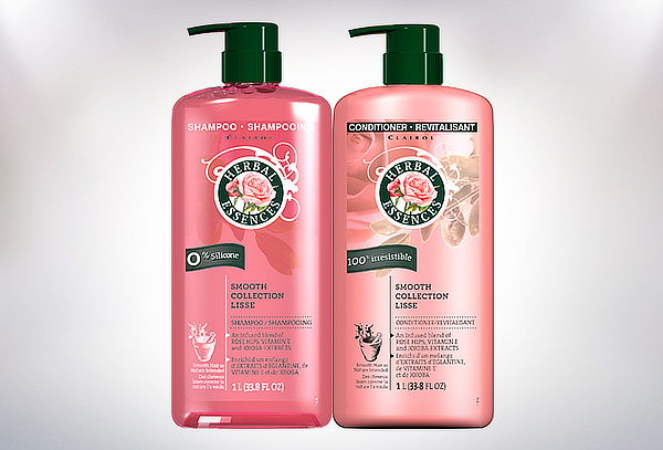 Shampoo + Acondicionador Herbal Essences Botella 1000 ml