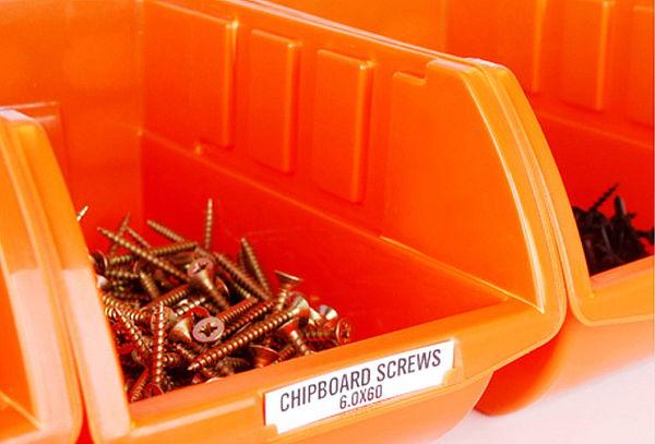 1, 5 o 10 Packs de 8 Organizadores Apilables Color Naranja