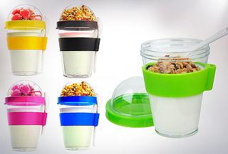 Set 2 Vasos para Yogurt y Cereal