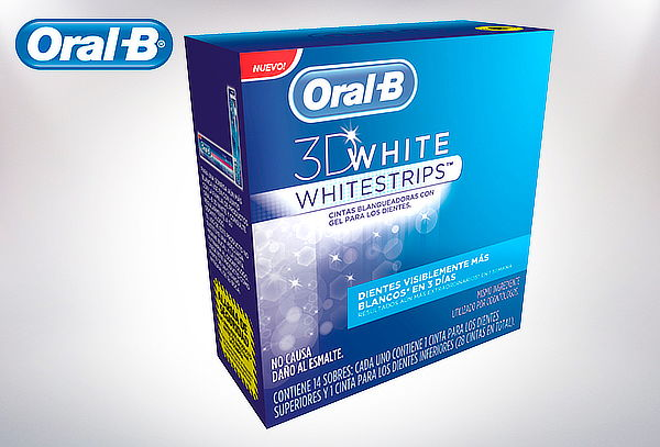 Cintas Blaqueadoras Oral-B 3D White o 3D White Advanced Seal