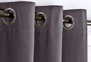 Cortina Paño Black Out Argolla Jovial, Color a Elección