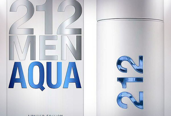 Perfume 212 Men Aqua 100ml de Carolina Herrera