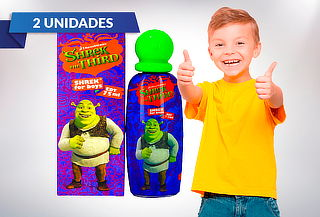 Pack 2 Perfumes Shrek de Niño 75ml