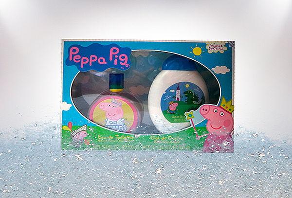 Set Peppa Pig: Perfume + Espuma de Baño
