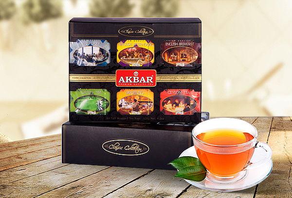 Caja 60 Bolsitas de Té Classic Collection Akbar