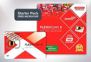 Flexiroam Microchip Sim Internacional