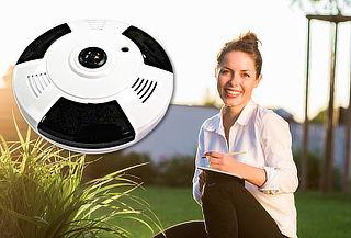 Cámara Visión 360 HD con Grabacion de Audio y WIFI