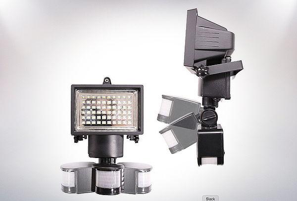 Foco Solar Led Alta Luminosidad con Sensor de Movimiento