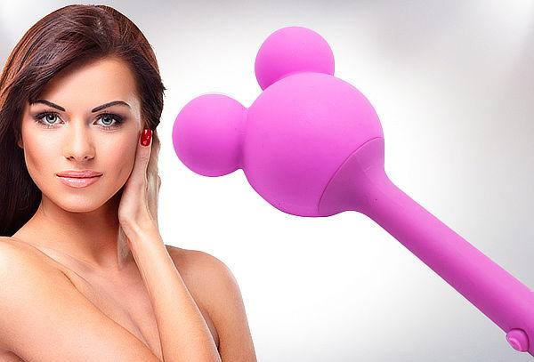 Masajeador Vibrador Recargable Modelo Mickey