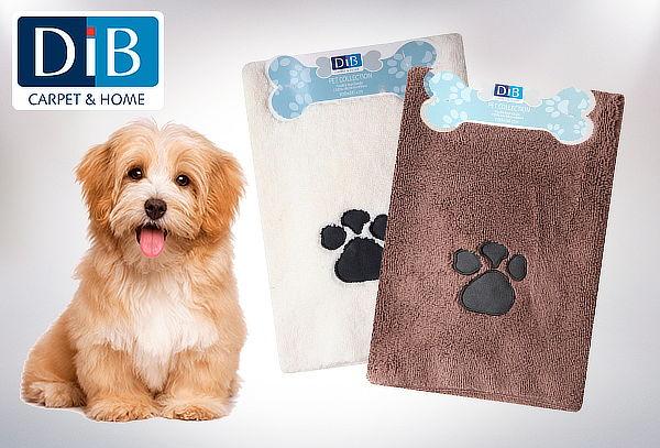 Pack 3 toallas de Microfibra para Perros Dib