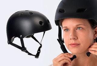 Casco Negro Ultra Liviano para Bicicleta