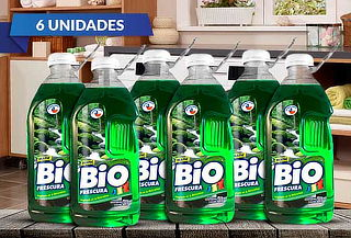 18 LITROS Detergentes Líquido Bio Frescura Bosque Nativo