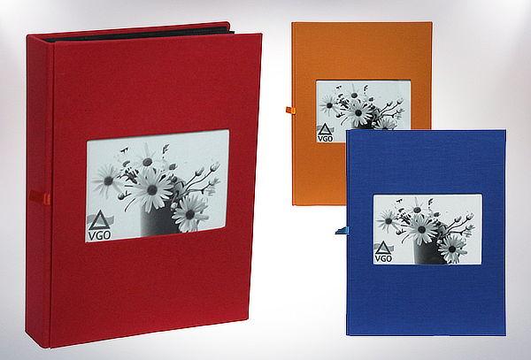 Pack de 2 Álbumes de Tela para 200 Fotos con Ventana