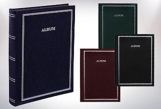Pack de 2 Álbumes Pergamino de 100 Páginas Negras