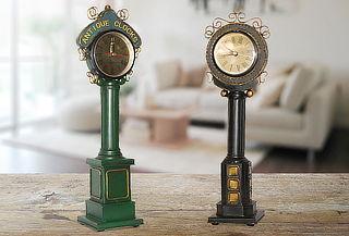 Reloj Adorno Metal de Mesa color a elección