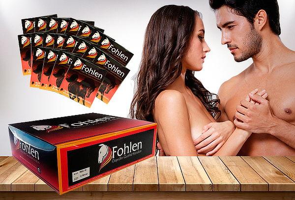 Pack de 144 Unidades de Preservativos Fohlen