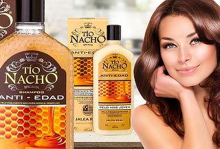 Pack Tío Nacho Shampoo + Acondicionador Anti Edad