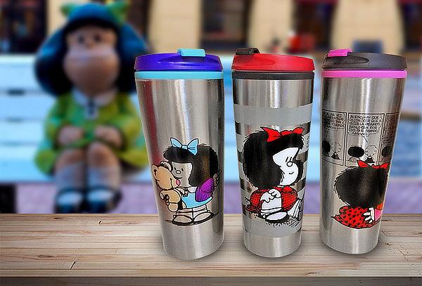 Pack 2 Mug Térmicos de Mafalda