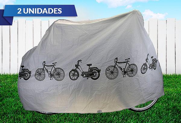 Pack 2 Fundas Cubre Bicicleta