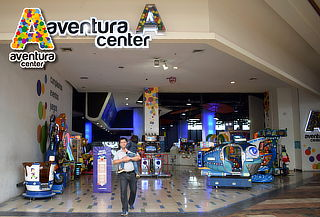 Aventura Center: Tarjeta Cargada con $15.000 o $30.000