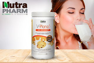 V-Plano Meal Replacement Cookies and Cream Nutrapharm