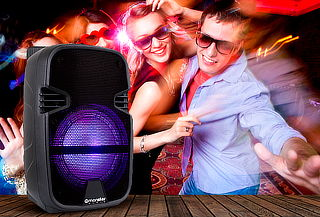 Parlante Karaoke BK Monster Audio 810BK