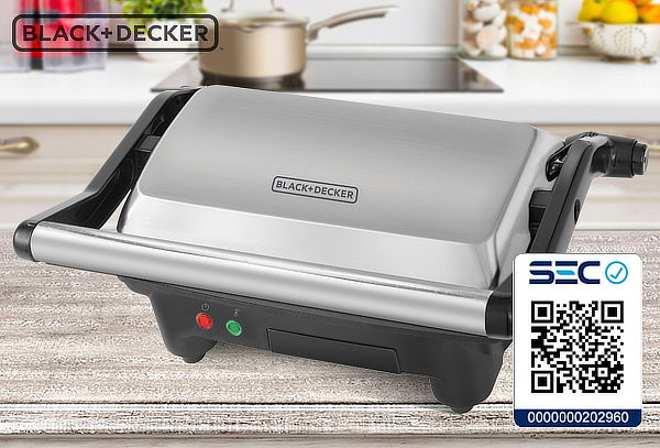 Sandwichera Panini Black & Decker