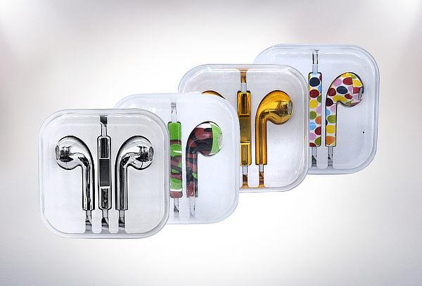 Pack 2 Audífonos Manos Libres con Diseño