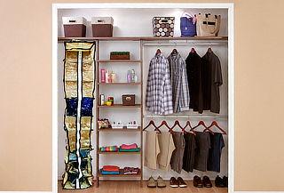 2 o 4 Organizadores Multiuso para Closet