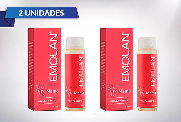 Pack de 2 Aceite Antiestrías de 120ml EMOLAN Mamá