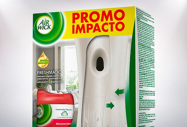 Pack 2 Air Wick Freshmatic Full Manzana Canela
