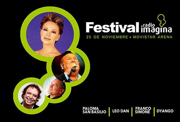 Entrada para Festival Radio Imagina, Movistar Arena