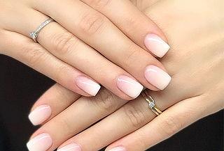 Manicure Completa más Esmaltado Permanente Degradé