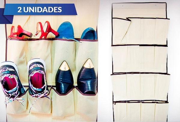Pack Organizador de Zapatos para Puerta
