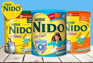Pack 3 tarros de Nido Forticrece Descremada 1440 gr