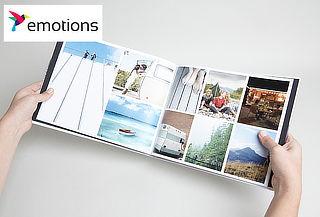Photobook Revista 28x22 de 50 páginas en Emotions.cl