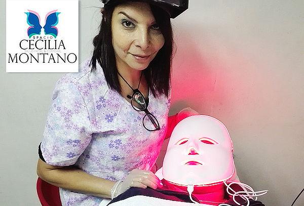 Limpieza Facial con Máscara Led + Microdermoabrasión y Más