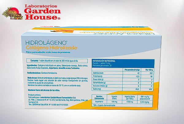 Colágeno Hidrolizado Garden House