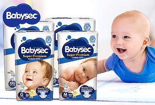 Pack 4 Bolsas Babysec Super Premium